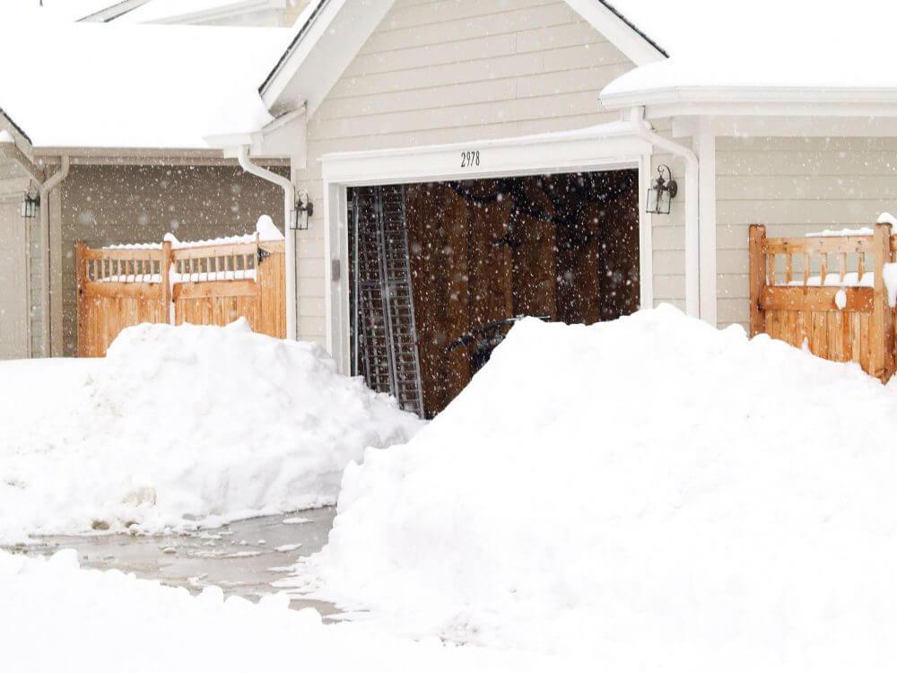 Brockton snow removal driveway snow plowing