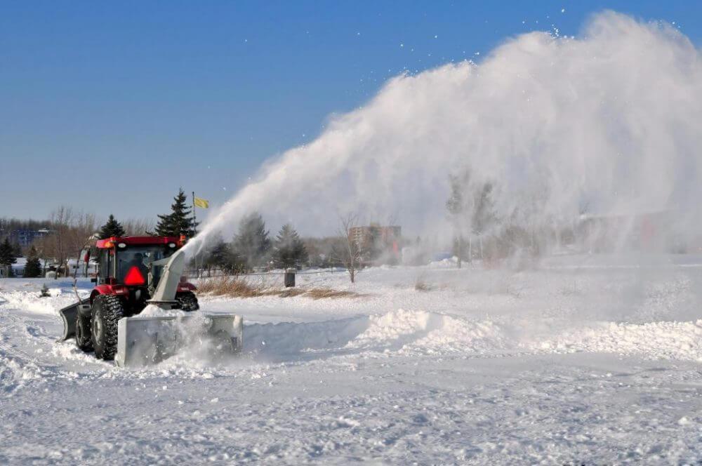 Brockton snow removal parking lot snow removal